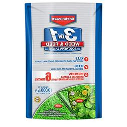 BioAdvanced 704841B 3-in-1 Weed & Feed for Southern Lawns Fe