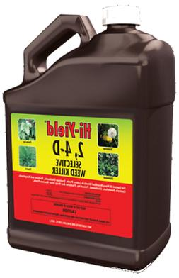 2, 4-D Broadleaf Weed Killer Herbicide Conc 1GL Lawns Ponds