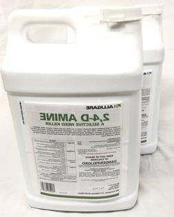 2 Bottles Alligare 4-D Amine Selective Weed Killer New 2.5 G