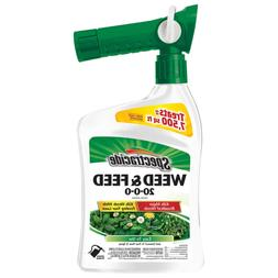 Spectracide 96262 Ready-to-Spray Weed and Feed Pest Killer,