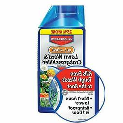 BioAdvanced All-In-One Lawn Weed and Crabgrass Killer| 40 ou