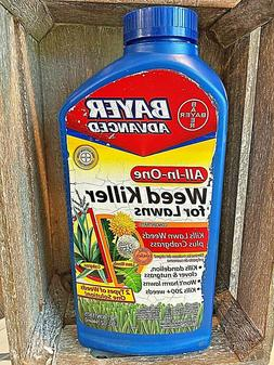 BAYER ADVANCED ALL IN ONE WEED KILLER FOR LAWNS 32 OZ CONCEN