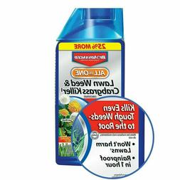 BioAdvanced 704140 All-In-One Lawn Weed and Crabgrass Killer