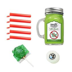 12oz Cannabis Killer  Lightly Scented Beamer Candle Co. Ultr