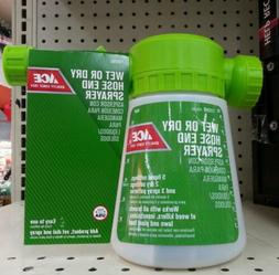 Ace Wet or Dry Garden HOSE END SPRAYER for weed and Insect k