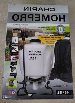 Chapin HOMEPRO Sprayer-4 Gal Backpack Fertilizer, Weed Kille