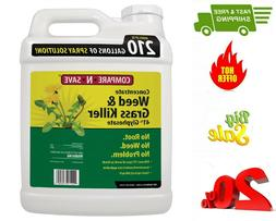 HOT 2.5 Gal. Grass and Weed Killer Glyphosate Concentrate, 4