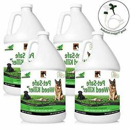 Just For Pets Weed Killer Spray  1-Case of 4 Gallons