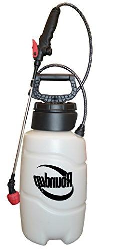 Roundup 2 gallon All-in-1 Multi Nozzle Pump Sprayer Fertiliz