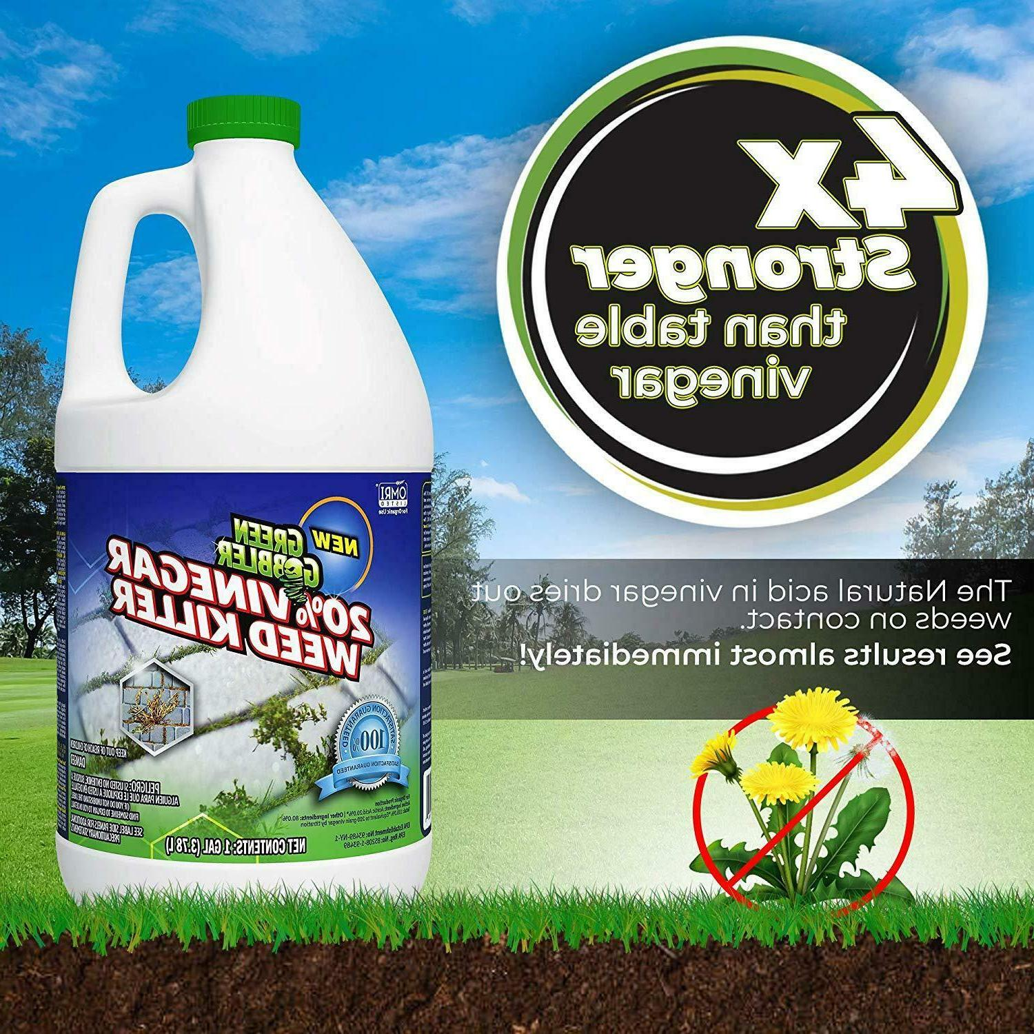GREEN WEED KILLER NATURAL GLYPHOSATE