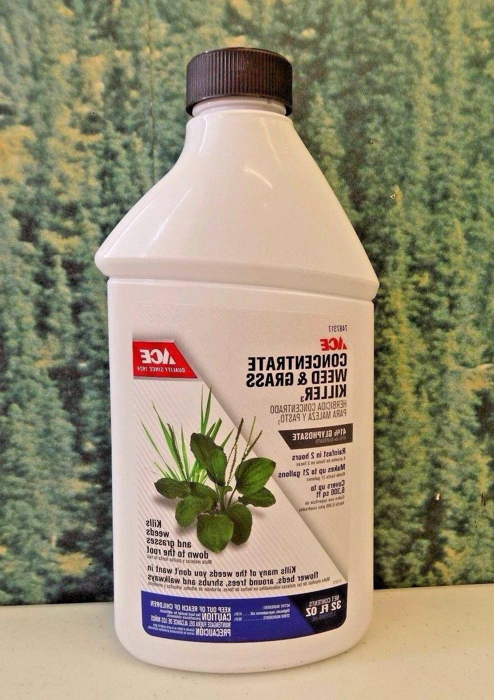 32 oz weed and grass killer concentrate