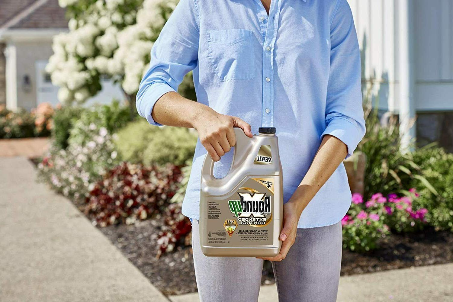 Roundup Weed and Grass Plus, 1.25-Gallon