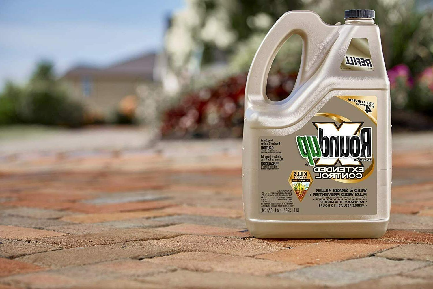 Roundup 5708010 Weed and Plus, 1.25-Gallon