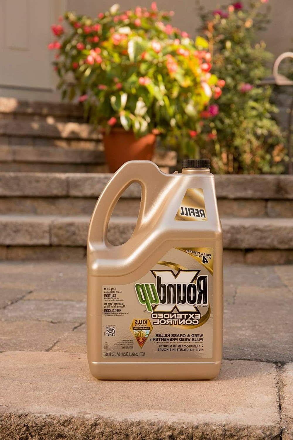 Roundup 5708010 Weed and Grass Killer Plus, 1.25-Gallon