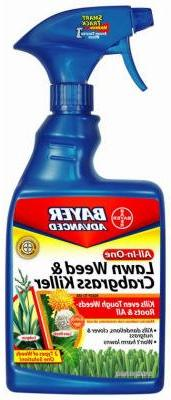 Bayer 704125A 24 oz. All In 1 Lawn Weed & Crabgrass Killer