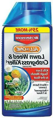 BioAdvanced All-In-One Lawn Weed and Crabgrass Killer Garden