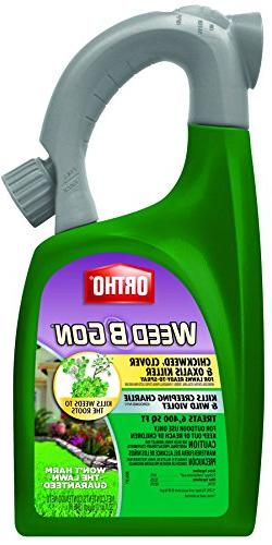 Ortho B Gon Chickweed Clover & Oxalis Weed Killer for Lawns