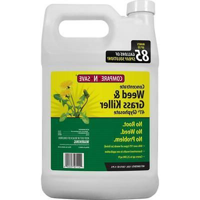 1 Gal Grass Weed Killer Glyphosate Concentrate Garden Lawn C