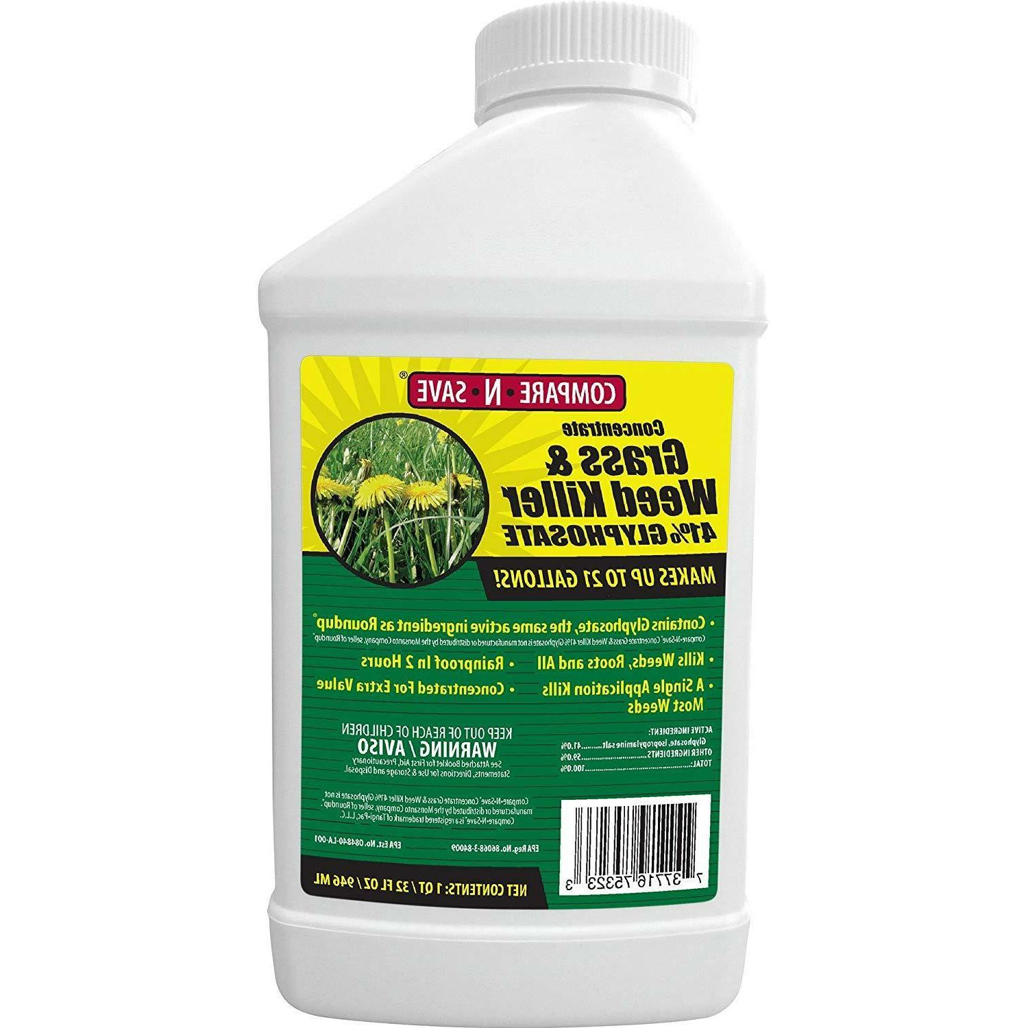 Compare-N-Save Concentrate Weed 32oz, 2,5,1Gal