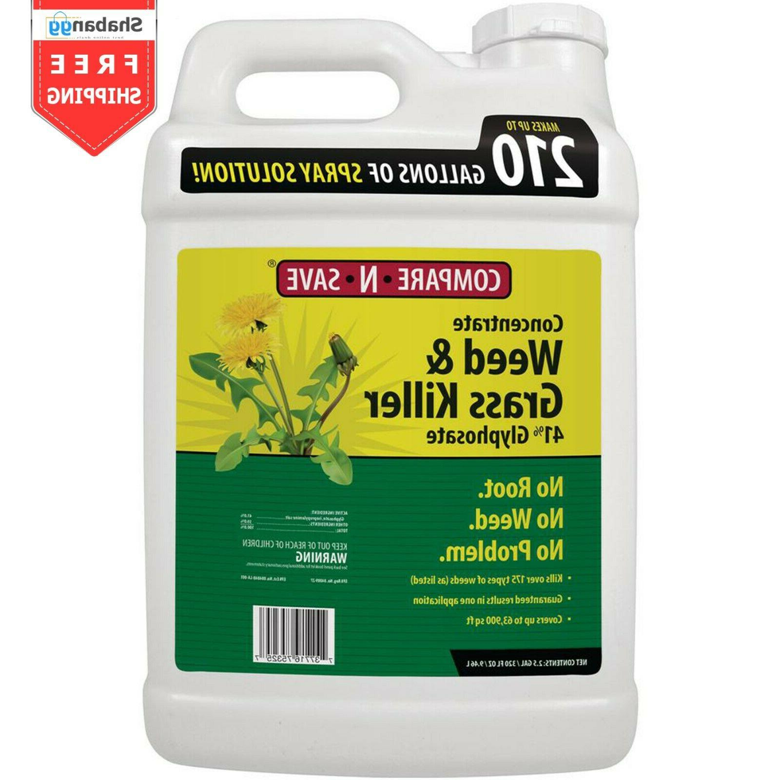 compare n save concentrate weed grass killer
