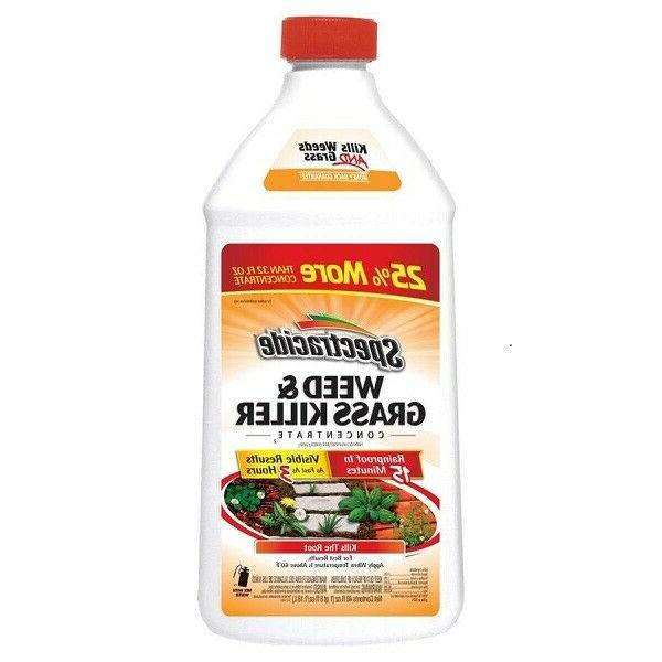 concentrate 40 oz weed and grass killer