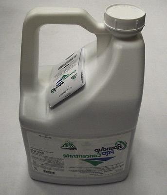 RoundUp Concentrate Glyphosate Gallon Systemic Herbicide