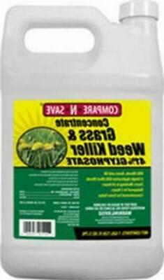 Concentrate Grass And Weed Killer 41-Percent Glyphosate 1-Ga