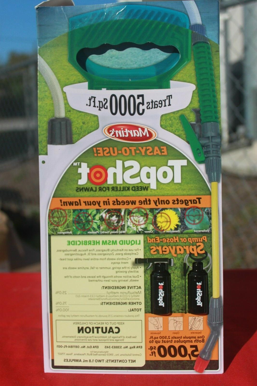 control solutions topshot weed killer 2 x