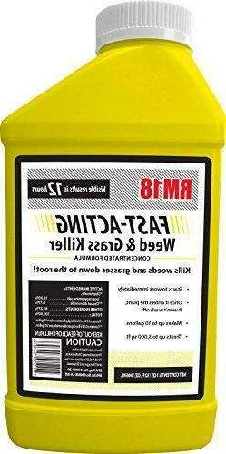 RM18 Fast-Acting Weed & Grass Killer Herbicide, 32-ounce -NE