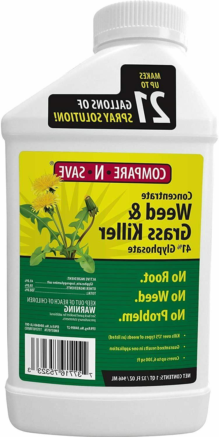 Grass And Weed Killer Concentrate Garden Lawn Weedkiller 41