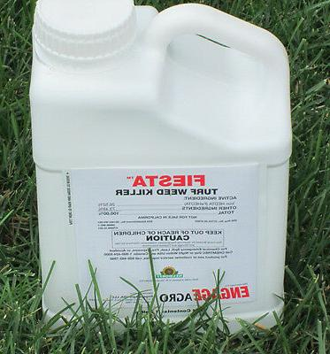 iron x based broadleaf weed killer safe