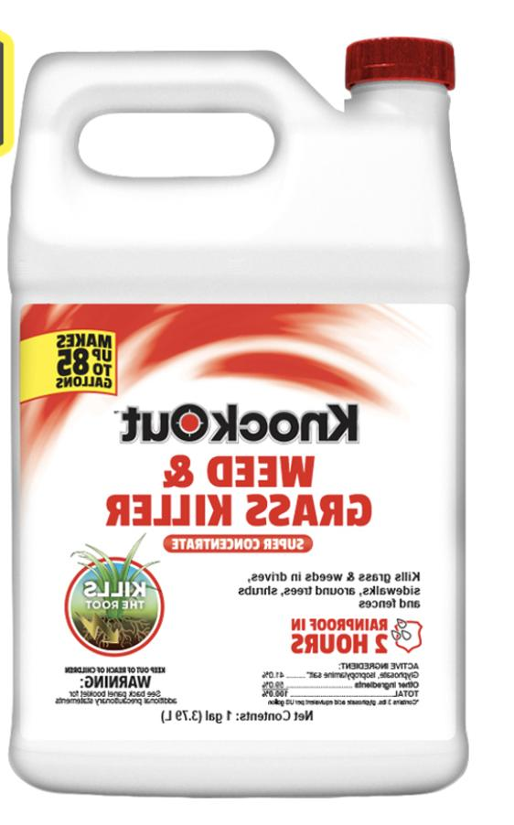knockout 1 gallon concentrate weed and grass