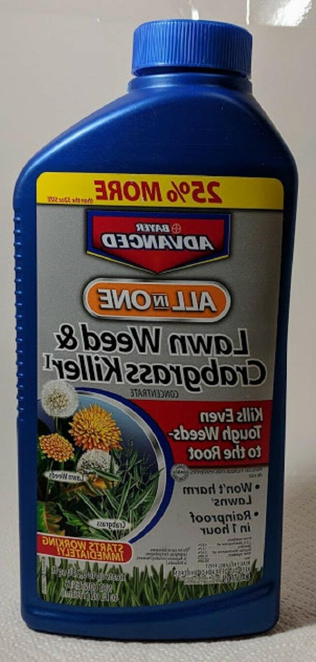 lawn weed crabgrass concentrate killer advanced all