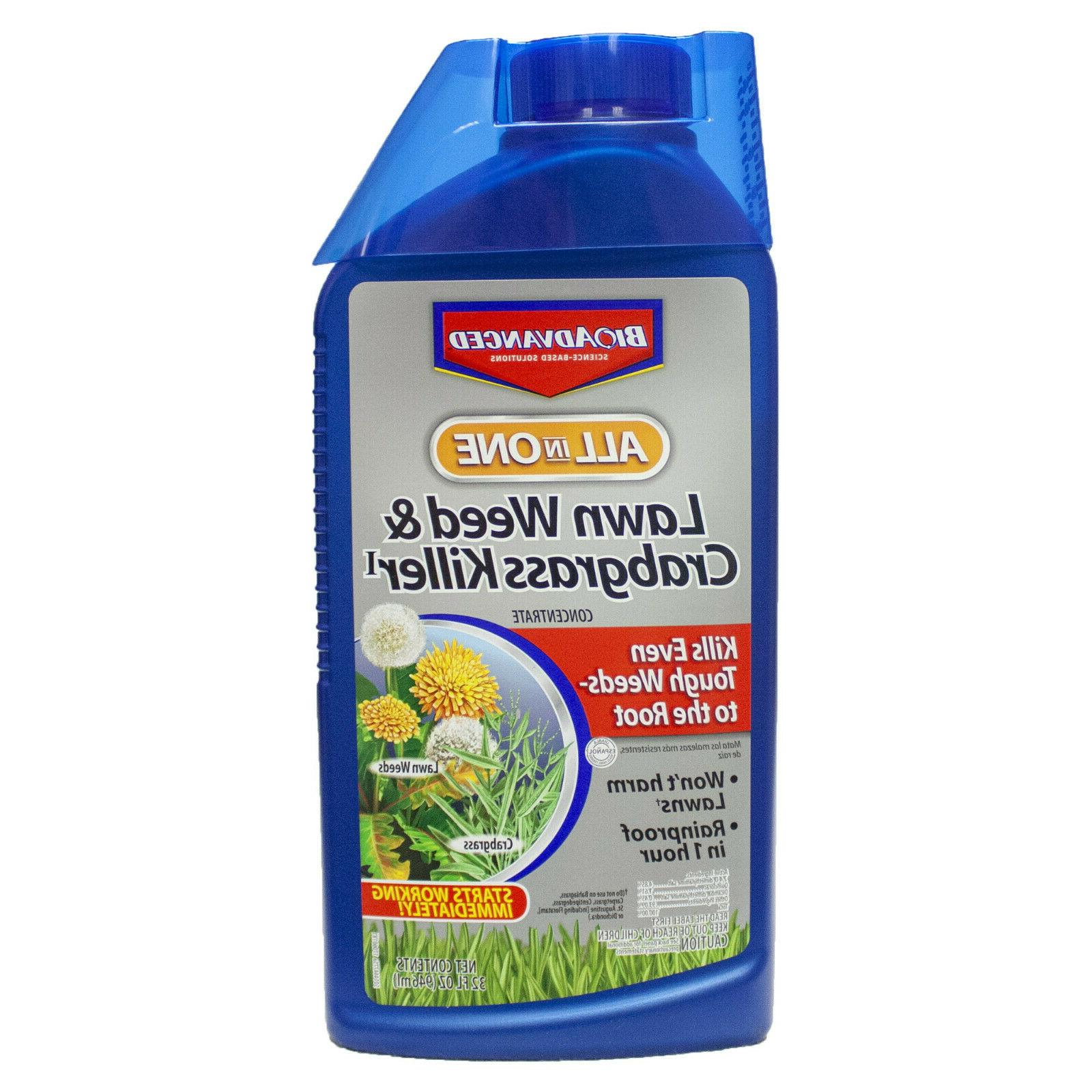 lawn weed crabgrass killer concentrate rainproof grass