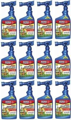 Bayer 32oz All In One Lawn Weed & Crabgrass Killer RTS
