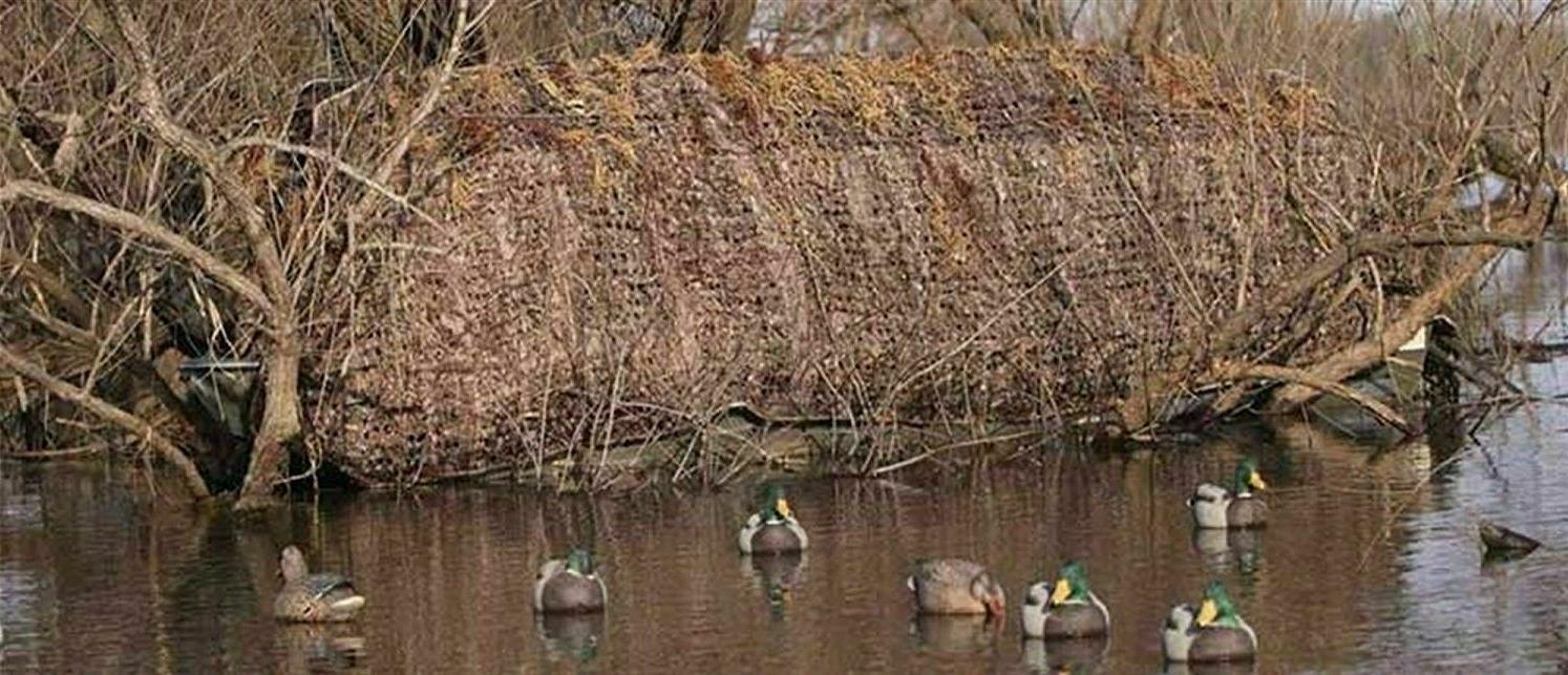 Avery QuickSet Net - Weed Color - Duck Frame
