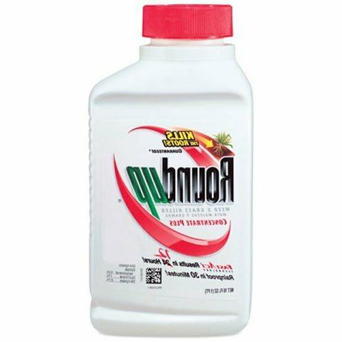 Roundup Weed and Grass Killer Concentrate Plus 36.8-Ounce