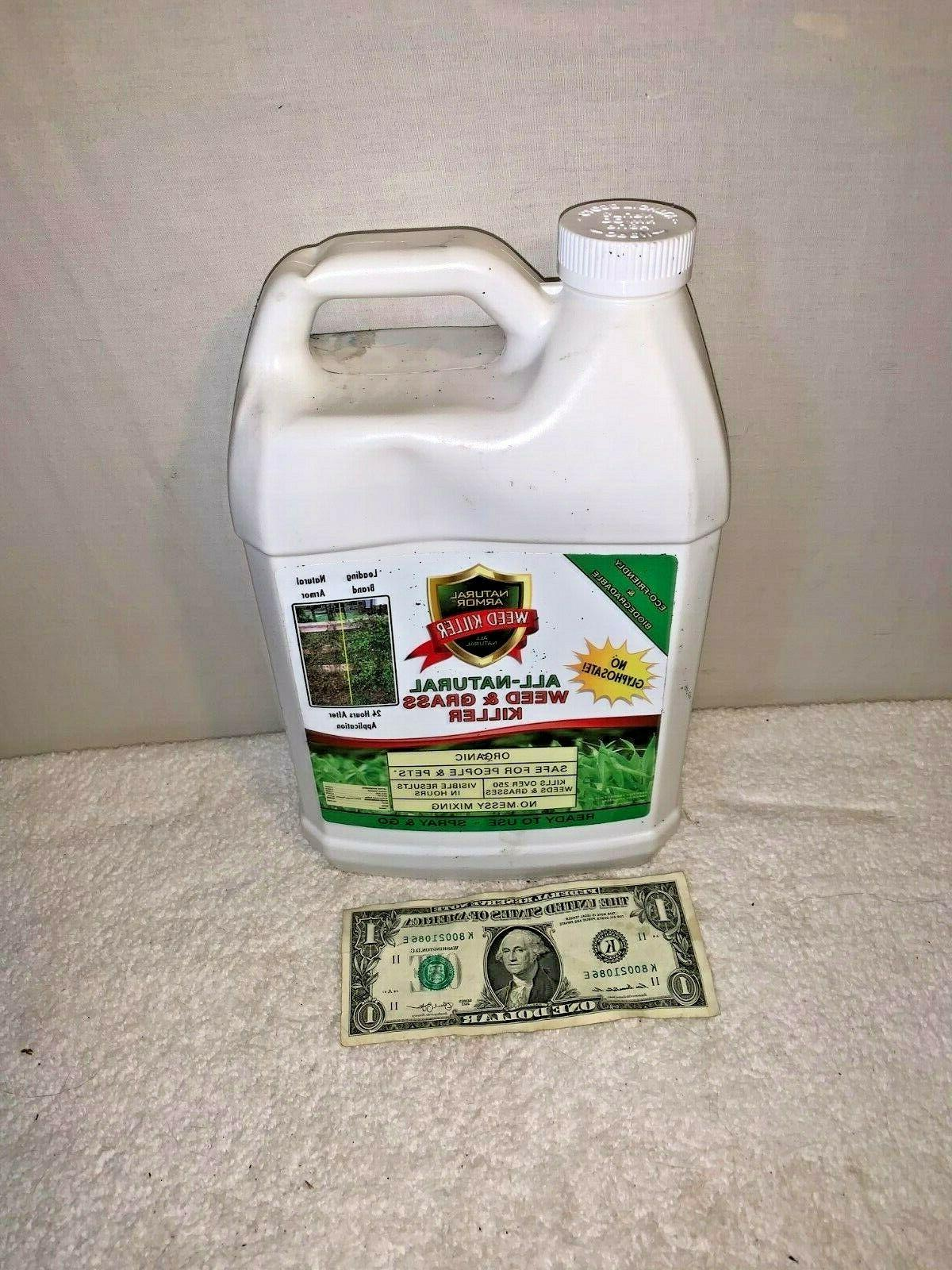 weed and grass killer no glyphosate organic