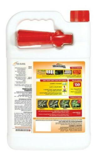 Spectracide Weed and Grass Killer Spray 1-Gal Ready-to-Use No Mixing