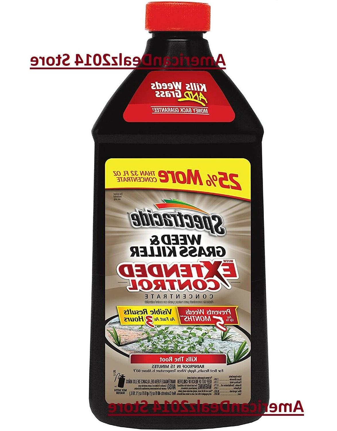 Spectracide Weed & Grass Killer with Extended Control Concen