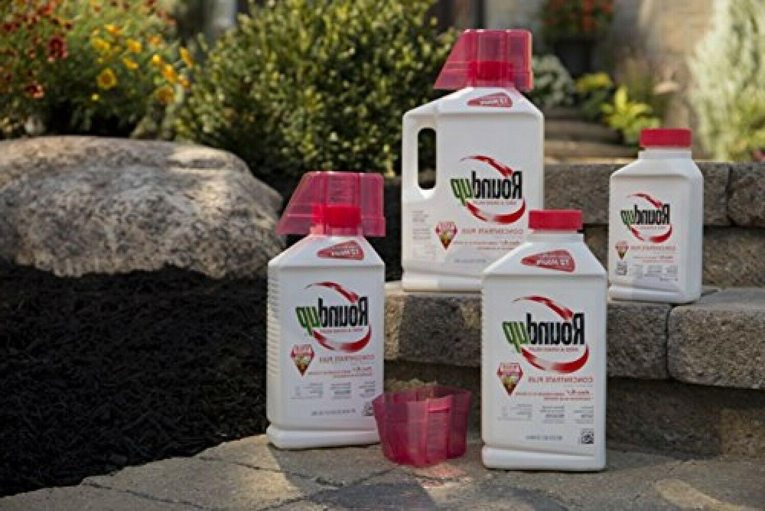 Roundup Weed Grass Killer Concentrate Plus Larger