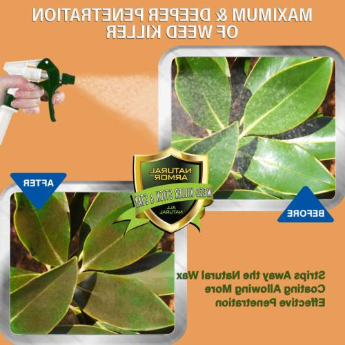 Natural Weed Killer & Stay Performance Enhancer Increases