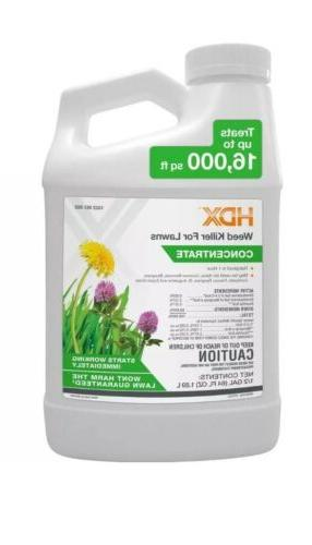 weed killer for lawns 64oz concentrate rainproof