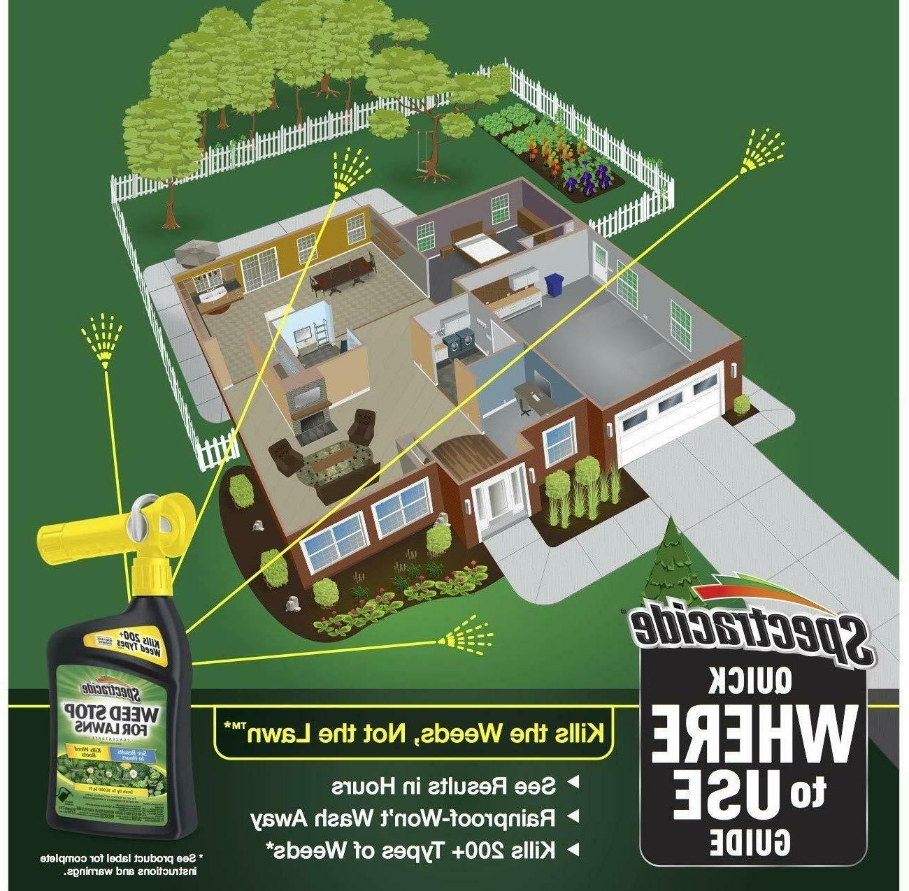 Spectracide Lawns Concentrate, Ready-to-Spray, 32-Ounce