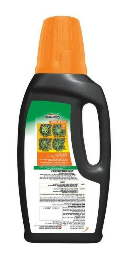 Spectracide Weed For Lawns Plus Killer Concentrate 32-oz