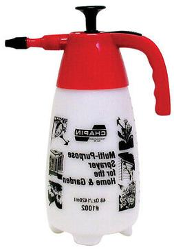 CHAPIN MANUFACTURING, P 1002 MULTI-PURPOSE SPRAYER RED 48 OU