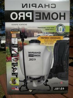 New Chapin Home and Garden Sprayer 4 Gal Backpack Fertilizer