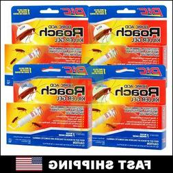 PIC Roach Killer / Cockroach Gel Bait 4 Tubes with Plunger a