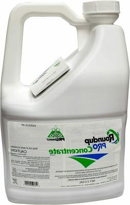 Round Up Pro Concentrate 50.2% Glyphosate 2.5 Gallon Jug Sys