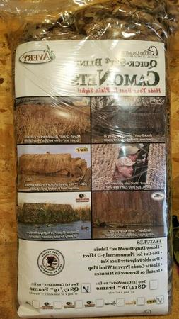 Avery QuickSet Blind Camo Net - Killer Weed Color - Fits 17'